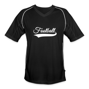 Upper 90 Football/Soccer Shirt (Black) - Men's Football Jersey