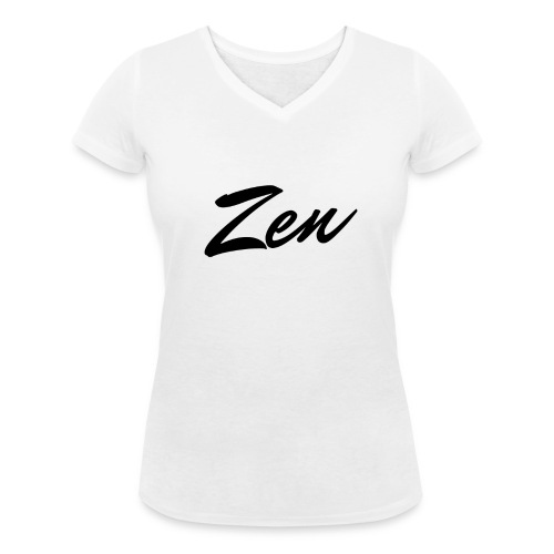 Zen's T-Shirt For Women's - Women's Organic V-Neck T-Shirt by Stanley & Stella