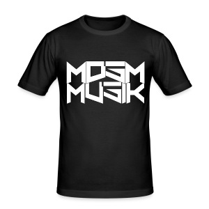 MDSM MUSIK - Slim Fitting T-shirt Black - Men's Slim Fit T-Shirt