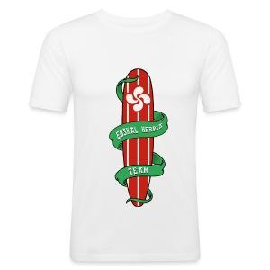 Basque surfing team - Men's Slim Fit T-Shirt