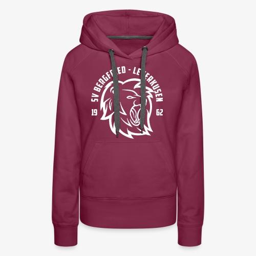 Damen Hoodie Lions Club- Bordeaux - Frauen Premium Hoodie