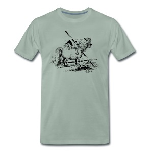 Thelwell Penelope is angry - Men's Premium T-Shirt