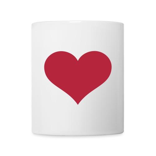 Tasse Heart  - Mug blanc