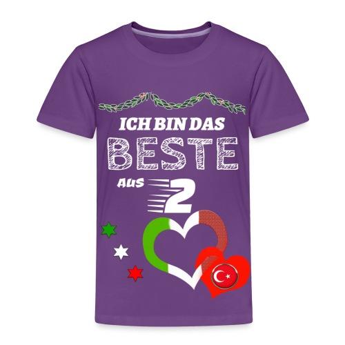 Kinder Premium T-Shirt - Italien/Türkei - Kinder Premium T-Shirt
