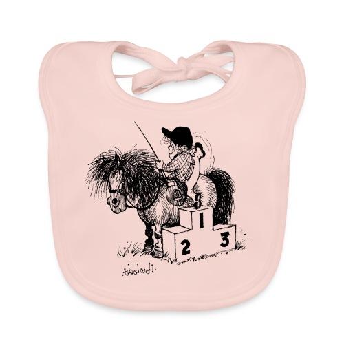 Thelwell Pony Number 1 - Baby Organic Bib