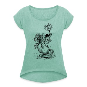Thelwell Pony Champion - Women's T-shirt with rolled up sleeves