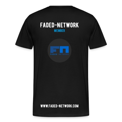 Faded-Network - Member Shirt - Premium-T-shirt herr