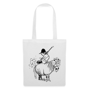 Thelwell Pony Cleaning - Tote Bag