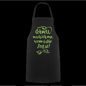 Schildi Spruch - Kochschürze