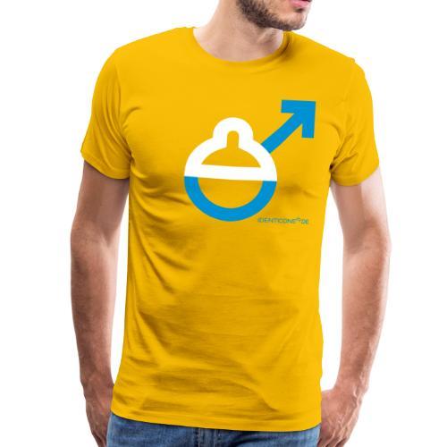 Schlumpf IDENTICONS - Männer Premium T-Shirt