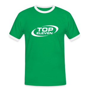 Men's Ringer T-Shirt - Green - Men's Ringer Shirt