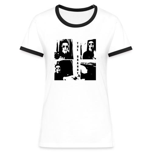 The Brandy Kontrast für Mädels - Frauen Kontrast-T-Shirt