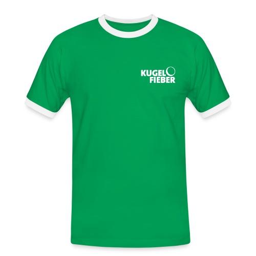 Männer Kontrast Shirt Kugelfieber - Männer Kontrast-T-Shirt