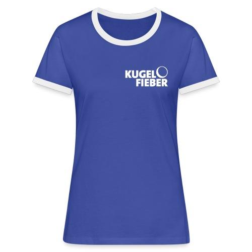 Frauen Kontrast T-Shirt Kugelfieber - Frauen Kontrast-T-Shirt