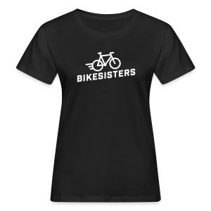 BIKESISTERS - Bio T-Shirt Damen - Frauen Bio-T-Shirt