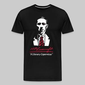 MTPd2: H.P. Lovecraft - A Literary Copernicus (2-farbig) - Männer Premium T-Shirt