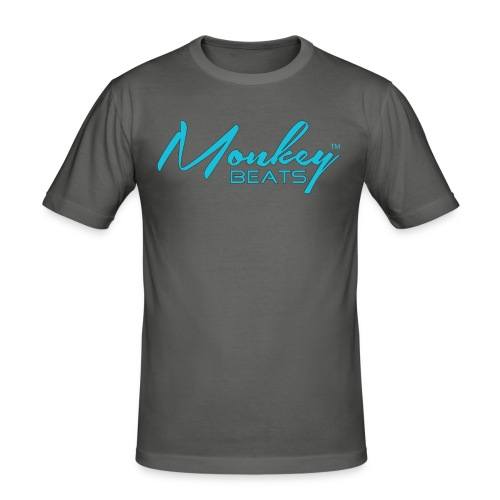 Monkey Beats - Slim Fit Shirt - Männer Slim Fit T-Shirt