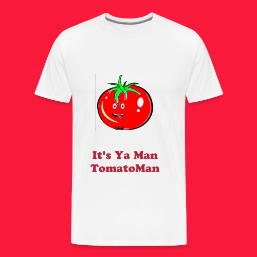 It's Ya Man TomatoMan - Men's Premium T-Shirt
