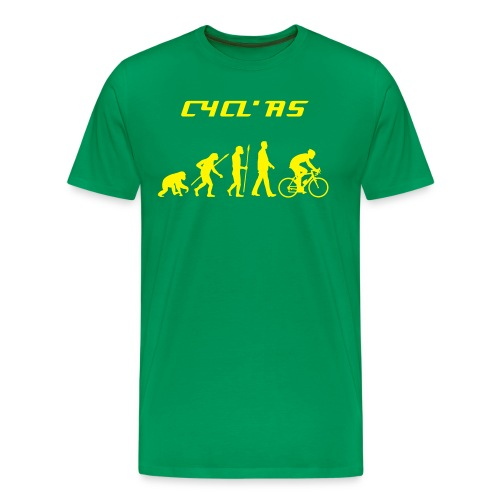CYCL' AS - EVOLUTION HOMME - T-shirt Premium Homme