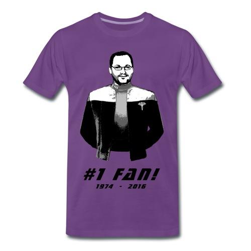 Herren #1 Fan T-Shirt - Männer Premium T-Shirt