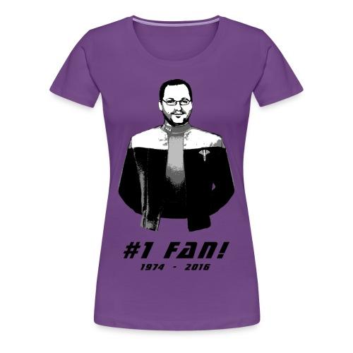 Frauen #1 Fan T-Shirt - Frauen Premium T-Shirt