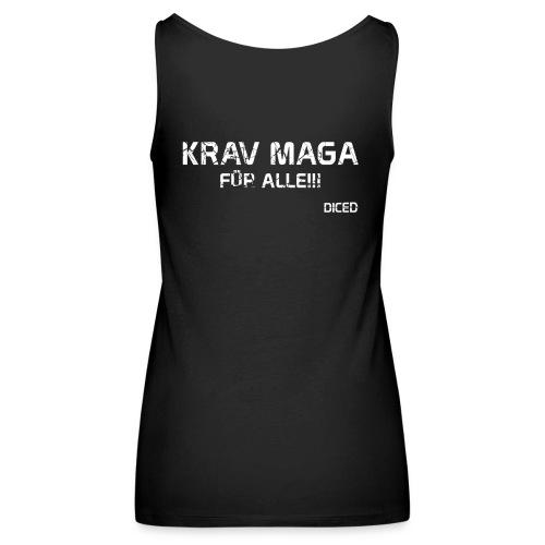 Krav Maga für alle Frauen - Tank Top - Frauen Premium Tank Top