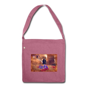 Seth Tasche pink - Schultertasche aus Recycling-Material