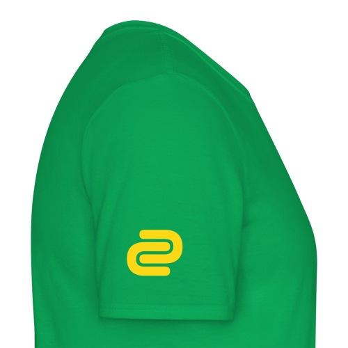Men's David Cutter Music Logo T-Shirt Green - Men's T-Shirt