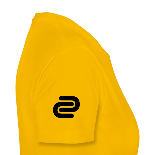 Women's David Cutter Music Logo T-Shirt Yellow - Women's Premium T-Shirt
