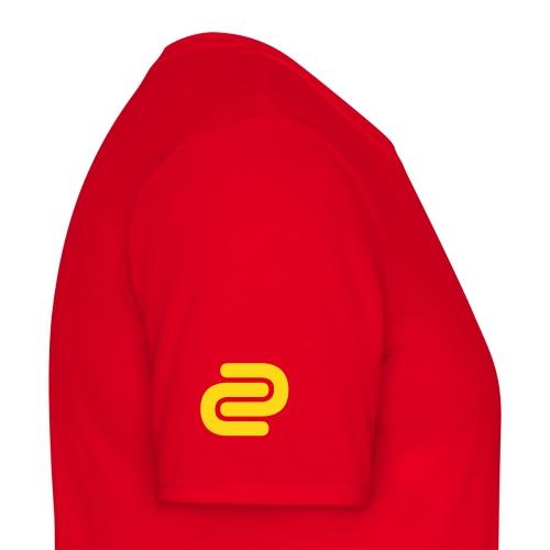 Men's David Cutter Music Logo T-Shirt Red - Men's T-Shirt