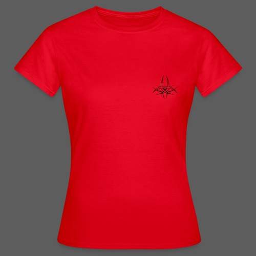 Twisted Destiny Base T-Shirt (female, red) - Frauen T-Shirt