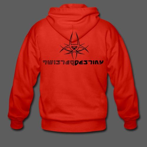 Twisted Destiny Base Hoodie (male, red) - Männer Premium Kapuzenjacke
