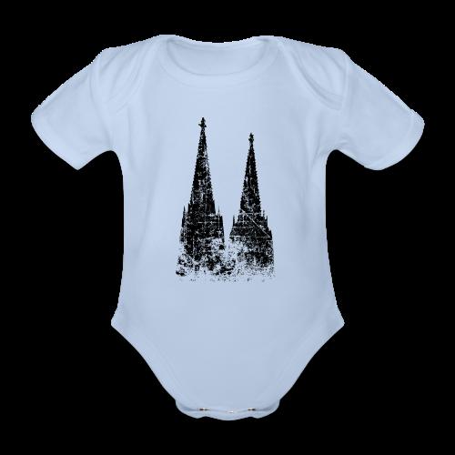 Kölner Dom (Vintage) Köln Babybody - Baby Bio-Kurzarm-Body