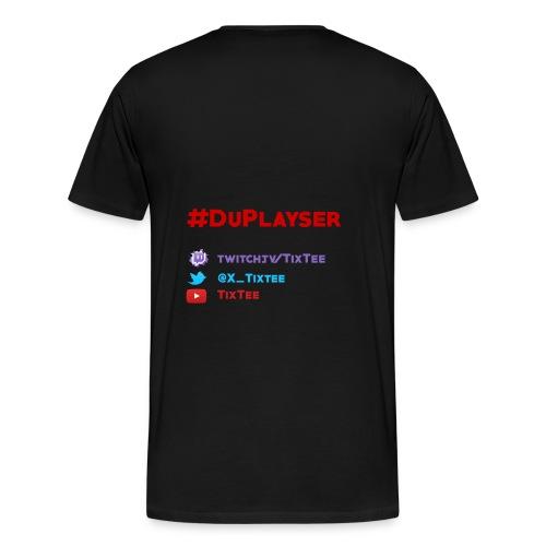#Playser - T-shirt Premium Homme
