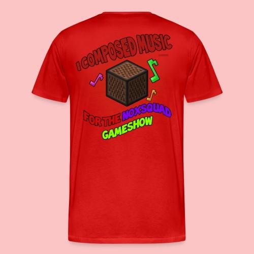 Music (and Host) - Men's Premium T-Shirt