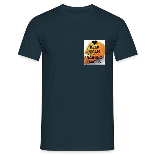 T-shirt Homme - tacos,raining tacos,geek