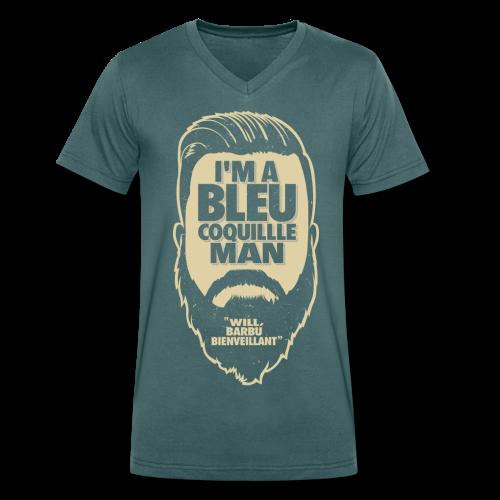L'homme Bleucoquille V - T-shirt bio col V Stanley & Stella Homme