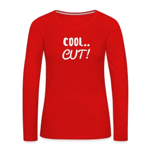 Ladies Cool Cut Long Sleeve - Women's Premium Longsleeve Shirt