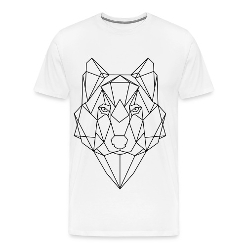 White Husky - Männer Premium T-Shirt