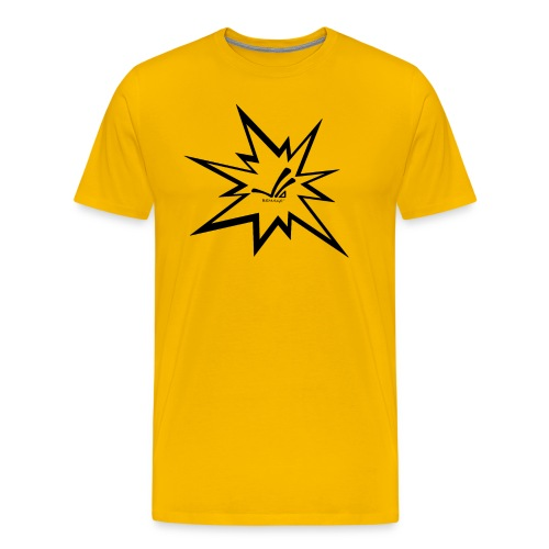 BEMAGE Männer T-Shirt EIGHT - Männer Premium T-Shirt