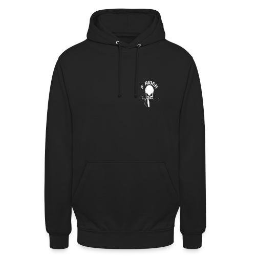 pull F Rider - Sweat-shirt à capuche unisexe