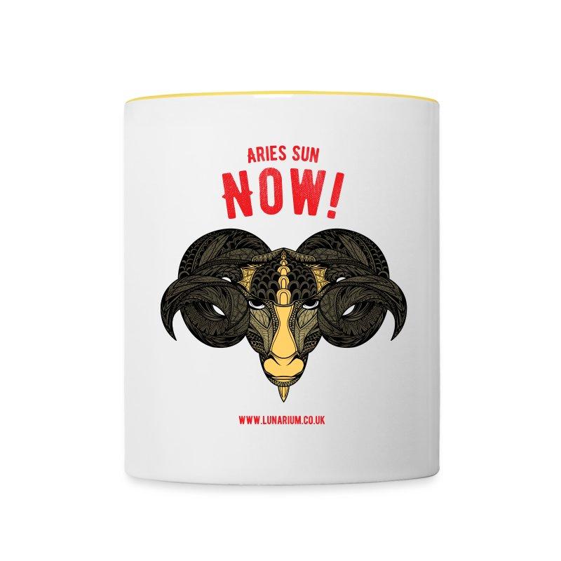 Aries Sun Contrasting Mug - Contrasting Mug
