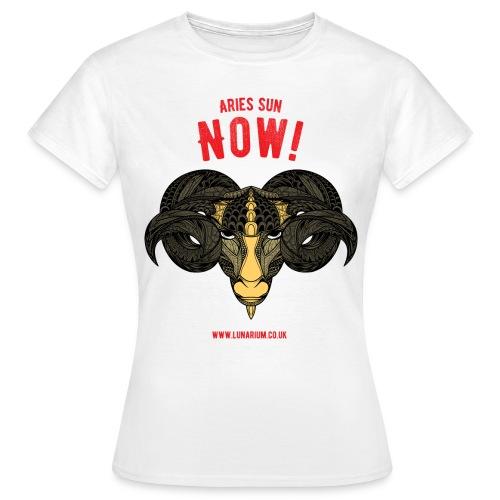 Aries Sun Women's T-Shirt  - Women's T-Shirt