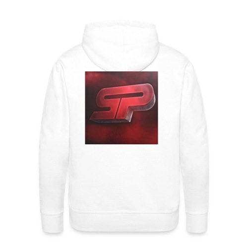 S0rfyPLays Limited Edition Men Hoodie (Old logo on the back) - Men's Premium Hoodie