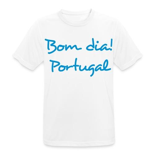 Bom Dia! Portugal T-Shirt - Männer T-Shirt atmungsaktiv