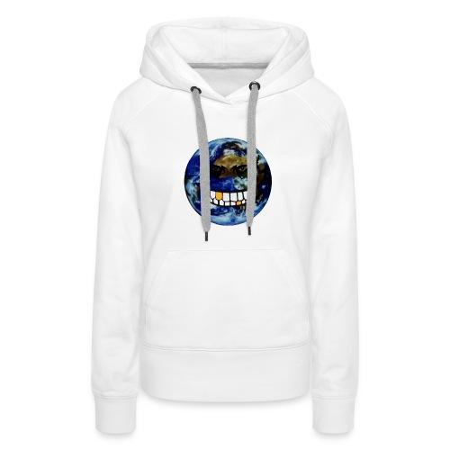 Sweatshirt femme Mad World by Taga - Sweat-shirt à capuche Premium pour femmes
