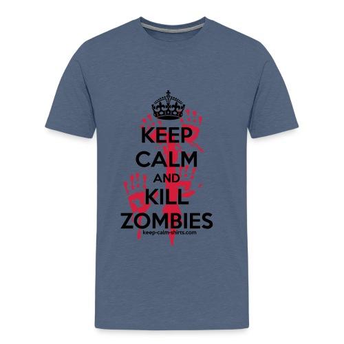 T-shirt Gamer Zombies - Men's Premium T-Shirt