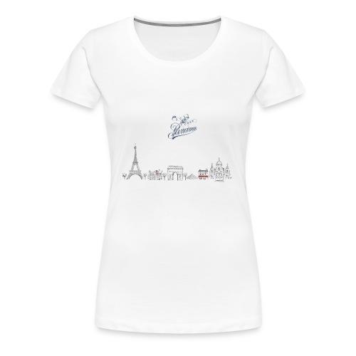 MAILLOT DE CORPS FEMME PARIS - T-shirt Premium Femme