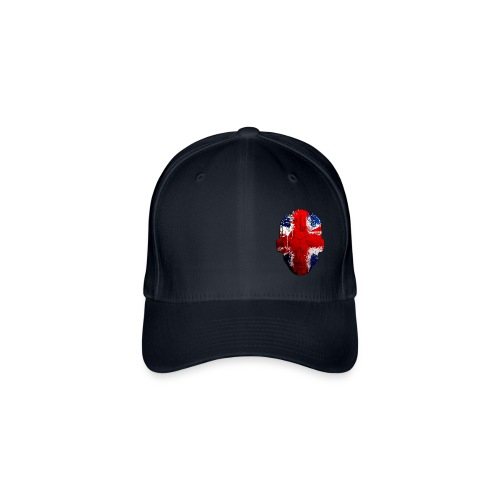 Borg Union flag MetaSkull Cap - Flexfit Baseball Cap