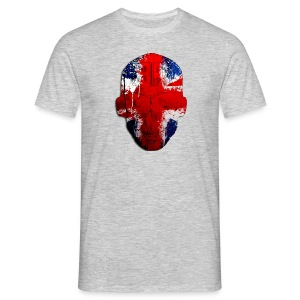 Borg Union flag MetaSkull - Men's T-Shirt